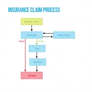 Insurance claim process preview