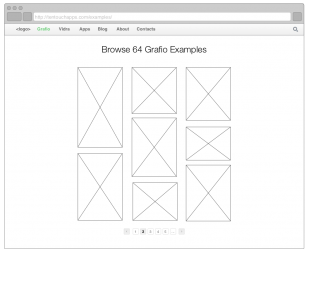 Wireframe Examples preview